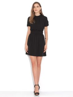 Designers Closet - CHRISTOPHER KANEシルク ギャザーデザイン ドレス