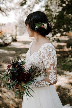 Wedding Dresses 2018, Rustic Wedding Dresses, Boho Wedding Dress, Bridal Dresses, Lace Wedding, Bridal Bouquets, Dream Wedding, Backless Wedding, Vintage Weddings