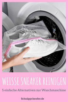 Weiße Sneaker reinigen: So werden sie wieder strahlend weiß!