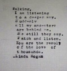walking linda hogan essay Seventeen often accusatory essays on man's relationship with nature by native american poet and novelist hogan (mean spirit, 1990, etc)  more by linda hogan .