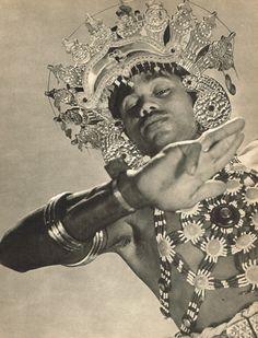 """vivipiuomeno1: """" 1940's Vintage Ceylon Gunaya Yakdessa Costume Lionel Wendt Photo Gravure """""""