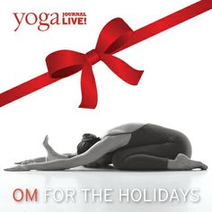 Give the gift of yoga! Certificates to Yoga Journal LIVE events are now available. Join us in San Francisco, New York, San Diego, Colorado and Florida!  http://www.yjevents.com/sf/gift.php