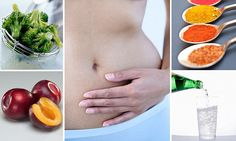What foods to eat for a FLATTER tummy