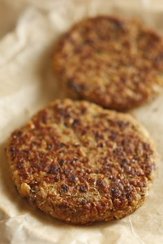 The Chubby Vegetarian: Black Eye Burger (The Easiest Veggie Burger Recipe Ever!)