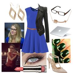 """""""Arrow-Felicity Smoak"""" by mcatwong21 on Polyvore"""