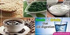 5 Foods and Drinks That Aid Digestion Problems #HealthyFood #Healthcare #DigestionProblems #Food