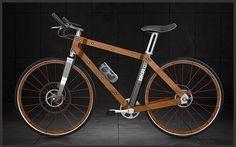 la bici naturale in legno, canapa, ... (Bough, Bamboo Blackstar, Bkr, Onyx Hemp)