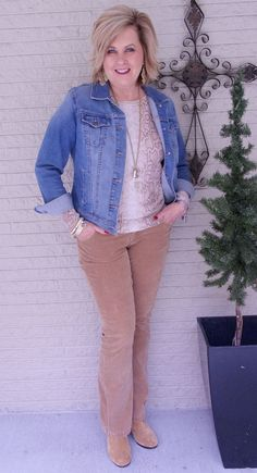 50 IS NOT OLD | A DENIM JACKET FOR EVERYDAY WEAR | Snakeskin Print | Casual | Cozy and Comfortable | Corduroy | Fashion over 40 for the everyday woman