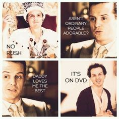 Jim Moriarty, you read it in his voice