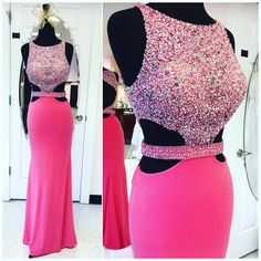 Sparkly Beaded Prom Dress,Sexy Dress for 2017 Prom,Mermaid