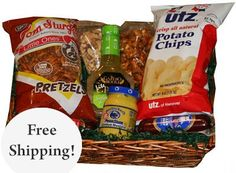 Since originating in Hanover, PA in 1921, Utz products have been a staple snack food all along the East Coast. Their products have even been featured in televisions shows like The Office, Mad Men, and Orange is the New Black. Grab a package of their delicious potato chips, as well as all these other treats, and feel a little closer to the Keystone State.
