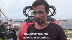 O cientista Ronaldo Francini Filho (UFPB) e John Hocevar (Campanha de Oceanos EUA) compartilham suas impressões sobre o recife. Novos mergulhos do submarino ...