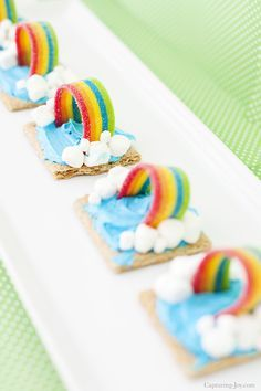 Graham Cracker Rainbow Weather Snack - Capturing Joy with Kristen Duke