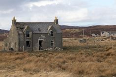 Abandoned farmhouse   Flickr - Photo Sharing!  I ran across this house on the Isle of Lewis, near the Callanish standing stones.