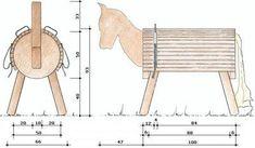 Bauanleitung Holzpferd nicht nur für Voltigierfreunde