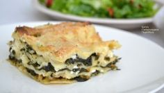 Spanakopita, Greek Recipes, Nutritious Meals, Casserole Recipes, Lasagna, Quiche, Feta, Food And Drink, Pie