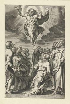 La Ascensión de Cristo,   Peter Paul Rubens, c. 1612 - c. 1616
