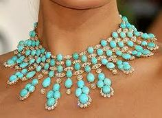 Stunning turquoise neck piece by Van Cleef & Arpels