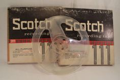 Lot-of-2-Scotch-Reel-to-Reel-Music-Tapes-1-Empty-Reel-Media-Sold-for-Blanks