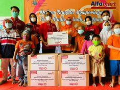 LazisMu dan Alfamart Kembali Salurkan Donasi Konsumen Dan