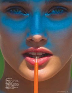 Karmen Pedaru by Hans Feurer for Vogue Netherlands