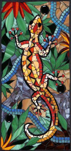 Image result for mosaic tile backsplash with salamander diy