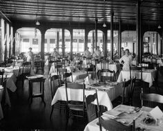 Forest Park Hotel Dining Room | Photograph | Wisconsin Historical Society