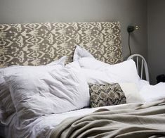 How to make a fabric-covered headboard