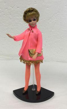 Pink Metallic Dawn Doll Head to Toe  Dress Only