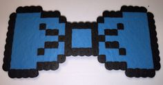BLUE 8-BIT BOW TIE - available on therubypig.com