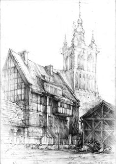 Gdansk architecture by amilanowska on DeviantArt