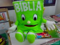 Bíblia Fantoches mexe a boca - Livraria Evangelica Cantinho da Tia Josi