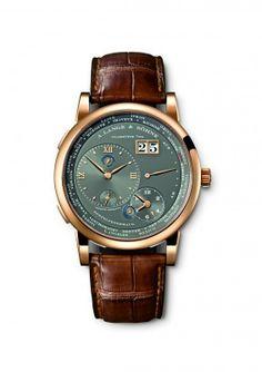 A. Lange & Söhne - Lange 1 Time Zone, ref.116033 - 42mm, rose gold case, grey dial ~30k