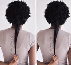 Shrinkage Natural Hair, Natural Hair Growth Remedies, Long Natural Hair, Natural Beauty, Natural Girls, Au Natural, Eyebrows, Eyeliner, Curly Hair Styles