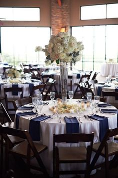 45 Gorgeous Navy And Silver Wedding Ideas & San Diego Wedding at The Crosby at Rancho Santa Fe by True ...