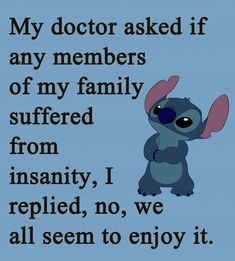 Lilo & Stitch Quotes, Amazing Animation Film for Children - Inbound Marketing Summit Funny True Quotes, Funny Relatable Memes, Funny Texts, Humor Quotes, Funny Love Sayings, Ecards Humor, Funny Humor, Funny Disney Memes, Disney Quotes