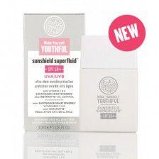 RRP £15.00 Make Yourself Youthful™Sunshield Superfluid™ SPF50+