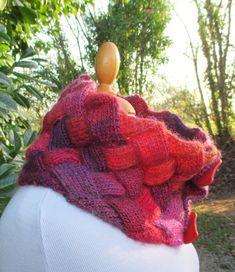 Col tricoté Fil de lune