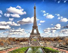 The Eiffel Tower is an iron lattice tower located on the Champ de Mars in Paris, France. It was named after the engineer Alexandre Gustave Eiffel, whose company designed and built the tower #Crivasi #Favorite #Places # #Romance #Love♥