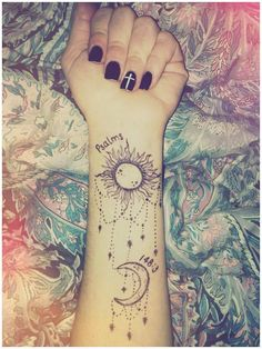 13 psalm 148 3 bible verse tattoo.. Praise Him, sun and moon; Praise Him, all stars of light. <3