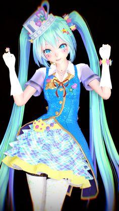 MMD TDA:Magical Miku by AmaneHatsura
