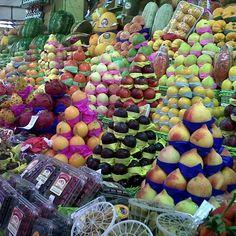 Fruits in São Paulo market