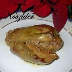 Libamáj zsidó módon Bagel, Poultry, 21st, Pork, Food And Drink, Turkey, Meals, Chicken, Cooking
