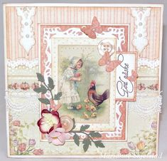 Easter card by Marianne featuring the Fairytale of Spring collection