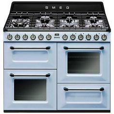 Buy Smeg TR4110 Dual Fuel Range Cooker Online at johnlewis.com