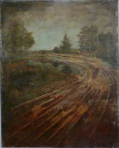 Jernej Forbici, Untitled, 2011, acrilico e olio su tela, 165 x 200 cm #contemporary #art #painting