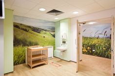 Birmingham Hospital's Maternity Ward ... The completed project features a wide range of murals and glazing graphics from our photography collections at www.surfaceview.co.uk
