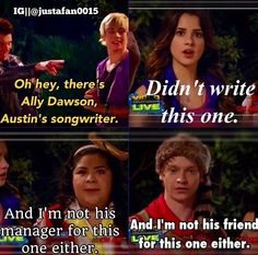 I love how everyone turned against Austin in this moment!