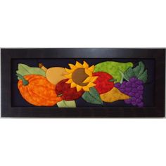 Cuadros En Patchwork Sin Agujas Bodegon $ 190000.0 Felt Crafts Patterns, Van Gogh, Bowser, Applique, Patches, Quilts, Frame, Painting, Country