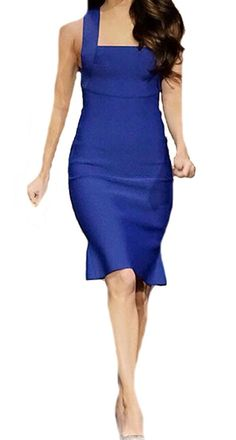 XQS Womens Elegant Racerback Ruffled Hem Cocktail Dress * You can get more details here : Evening dresses